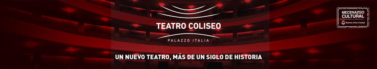 Teatro Coliseo de Buenos Aires logo